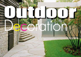 Outdoor decoration